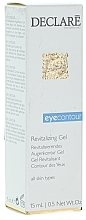 Düfte, Parfümerie und Kosmetik Revitalisierendes Augenkonturgel für alle Hauttypen - Declare Revitalising Eye Contour Gel
