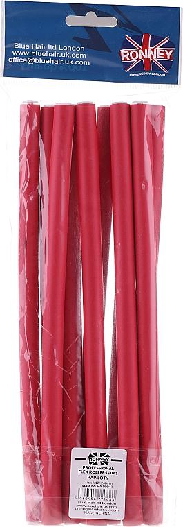 Schaumstoffwickler 12/240 mm rot 10 St. - Ronney Professional Flex Rollers