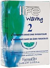 Dauerwelle-Set mit Zitrusduft 2 - Farmavita Life Waving 2 — Bild N1