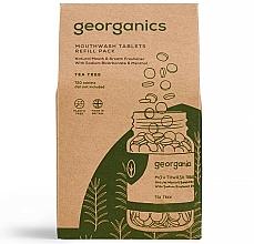 Düfte, Parfümerie und Kosmetik Mundwassertabletten mit Teebaum - Georganics Mouthwash Tablets Tea Tree (Refill)