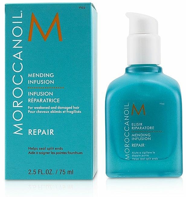 Haarspitzenfluid gegen trockene und spröde Haarspitzen - Moroccanoil Repair Mending Infusion — Bild N1