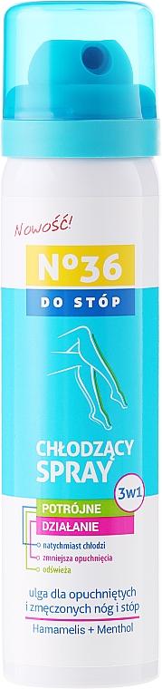 3in1 Kühlender Fußspray mit Hamamelis und Menthol - Pharma CF No36 Foot Spray 3In1