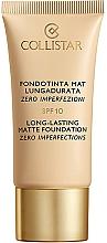Düfte, Parfümerie und Kosmetik Langanhaltende und mattierende Foundation LSF 10 - Collistar Long-Lasting Matte Foundation