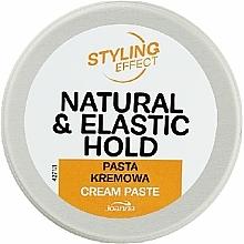 Düfte, Parfümerie und Kosmetik Cremige Stylingpaste für das Haar mit Hanfsamenextrakt - Joanna Styling Effect Natural & Elactic Hold Cream Paste