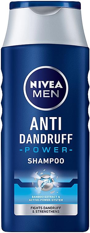 Anti-Schuppen Shampoo mit Bambusextrakt - Nivea For Men Anti-Dandruff Power Shampoo — Bild N1