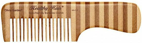 Haarkamm aus Bambus 3 - Olivia Garden Healthy Hair Eco-Friendly Bamboo Comb 3