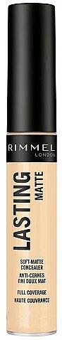 Matter Gesichts-Concealer - Rimmel London Lasting Matte Concealer