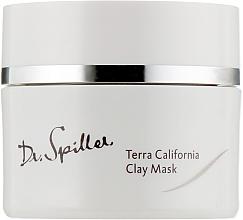 Düfte, Parfümerie und Kosmetik Gesichtsmaske mit Ton - Dr. Spiller Terra California Clay Mask