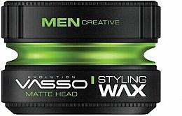 Düfte, Parfümerie und Kosmetik Stylingwachs mit extra starkem Halt und mattem Finish - Vasso Professional Hair Styling Wax Pro-Matte Head