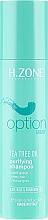 Düfte, Parfümerie und Kosmetik Shampoo mit Teebaumöl - H.Zone Option Tea Tree Oil Purifying Shampoo
