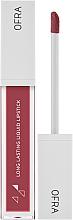 Düfte, Parfümerie und Kosmetik Langanhaltender flüssiger mattierender Lippenstift - Ofra x Madison Long Lasting Liquid Lipstick