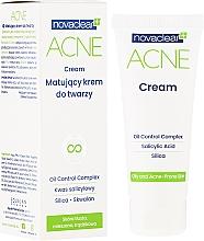 Düfte, Parfümerie und Kosmetik Mattierende Gesichtscreme mit Salicylsäure für fettige, zu Akne neigenede und Mischhaut - Novaclear Acne Cream