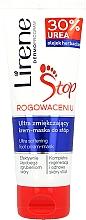 Düfte, Parfümerie und Kosmetik Regenerierende Creme-Maske für Füße mit 30% Hornstoff - Lirene Stop Callusness Foot Cream-Mask