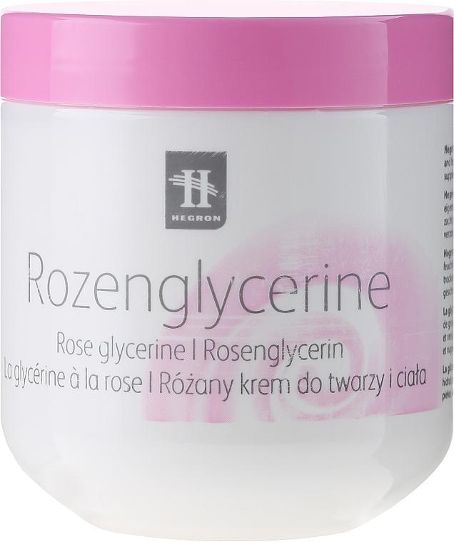 Gesichts- und Körpercreme mit Rosenglycerin - Hegron Body Cream