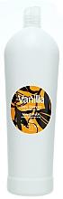 Düfte, Parfümerie und Kosmetik Shampoo für trockenes und glanzloses Haar mit Vanilleduft - Kallos Cosmetics Vanilla Shine Sampoo