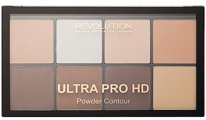 Konturierpuder-Palette - Makeup Revolution HD Pro Powder Contour