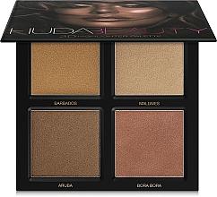 Düfte, Parfümerie und Kosmetik Highlighter Palette - Huda Beauty 3D Highlighter Palette