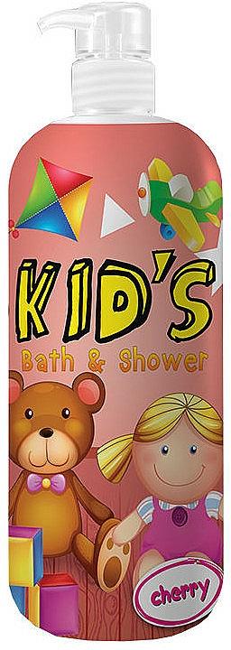 2in1 Duschgel und Badeschaum für Kinder mit Kirschduft - Hegron Kid's Cherry Bath & Shower