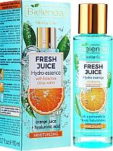 Düfte, Parfümerie und Kosmetik Feuchtigkeitsspendende Gesichtsessenz mit Orange - Bielenda Fresh Juice Hydro Essential Orange