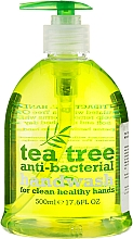 Düfte, Parfümerie und Kosmetik Antibakterielle flüssige Seife mit Teebaum - Xpel Marketing Ltd Tea Tree Anti-Bacterial Handwash