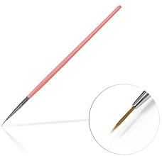 Düfte, Parfümerie und Kosmetik Nageldekoration-Pinsel 6 mm Pink - Silcare Brush 0