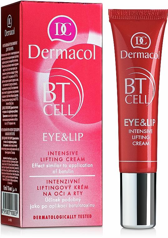 Intensive Lifting-Creme für Augenpartie und Lippen - Dermacol BT Cell Eye&Lip Intensive Lifting Cream