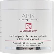 Düfte, Parfümerie und Kosmetik Anti-Couperose Algenmaske mit Hagebuttenextrakt und Vitamin C - APIS Professional Algae Mask