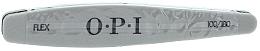 Düfte, Parfümerie und Kosmetik Buffer-Feile silber 100/180 - O.P.I FLEX Silver