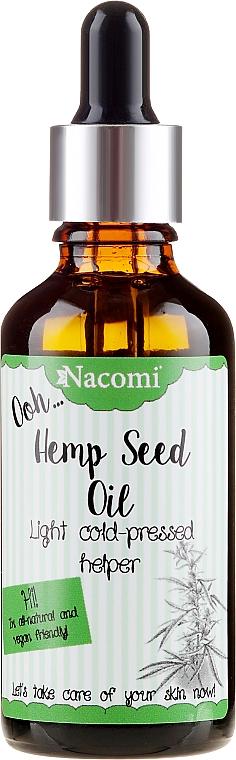 Hanfsamenöl für den Körper - Nacomi Hemp Seed Oil