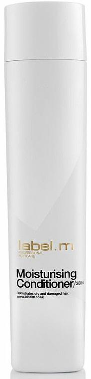 Feuchtigkeitsspendender Conditioner mit Extrakten aus Aloe Vera, Echinacea und Schwarzer Johannisbeere - Label.m Moisturising Conditioner — Bild N1