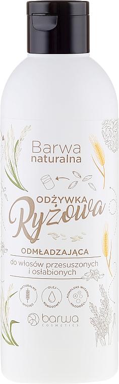 Conditioner für trockenes Haar - Barwa Natural Rice Conditioner