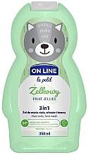 Düfte, Parfümerie und Kosmetik 3in1 Duschgel für Körper, Gesicht und Haar mit Fruchtgelee-Duft - On Line Le Petit Fruit Jellies 3 In 1 Hair Body Face Wash