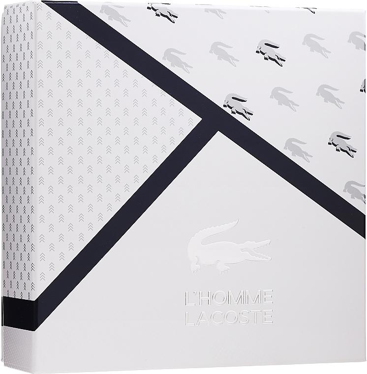 Lacoste L'Homme - Duftset (Eau de Toilette 100ml + Deodorant 150ml)