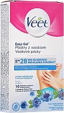 Düfte, Parfümerie und Kosmetik Kaltwachsstreifen Achseln und Körper für sensible Haut - Veet Easy-Gel