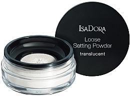 Düfte, Parfümerie und Kosmetik Transparenter loser Gesichtspuder - IsaDora Loose Setting Powder Translucent