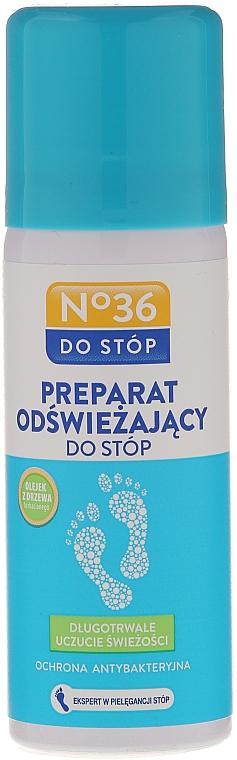 Antibakterielles und erfrischendes Fußspray mit Teebaumöl - Pharma CF No36