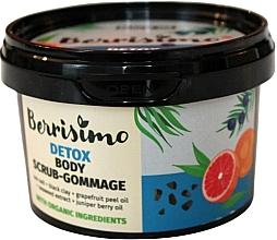 Düfte, Parfümerie und Kosmetik Entgiftendes Körperpeeling-Gommage mit Wacholderbeeren- und Grapefruitschalenöl - Berrisimo Detox Body Scrub-Gommage