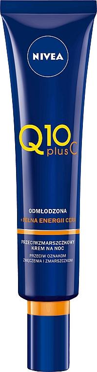 Anti-Aging Nachtcreme mit Vitamin C - Nivea Q10 Plus Vitamin C Night Cream