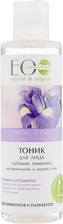 Tiefenreinigendes Gesichtstonikum für unreine und fettige Haut - ECO Laboratorie Facial Tonic