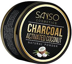 Düfte, Parfümerie und Kosmetik Natürliches aufhellendes Zahnpulver mit Aktivkohle und Kokos - Sanso Cosmetics Charcoal Activated Coconut Natural Powder