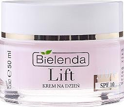 Anti-Falten Tagescreme mit Lifting-Effekt 50+ - Bielenda Lift Lifting and Smoothing Anti-wrinkle Day Cream SPF 10 — Bild N2