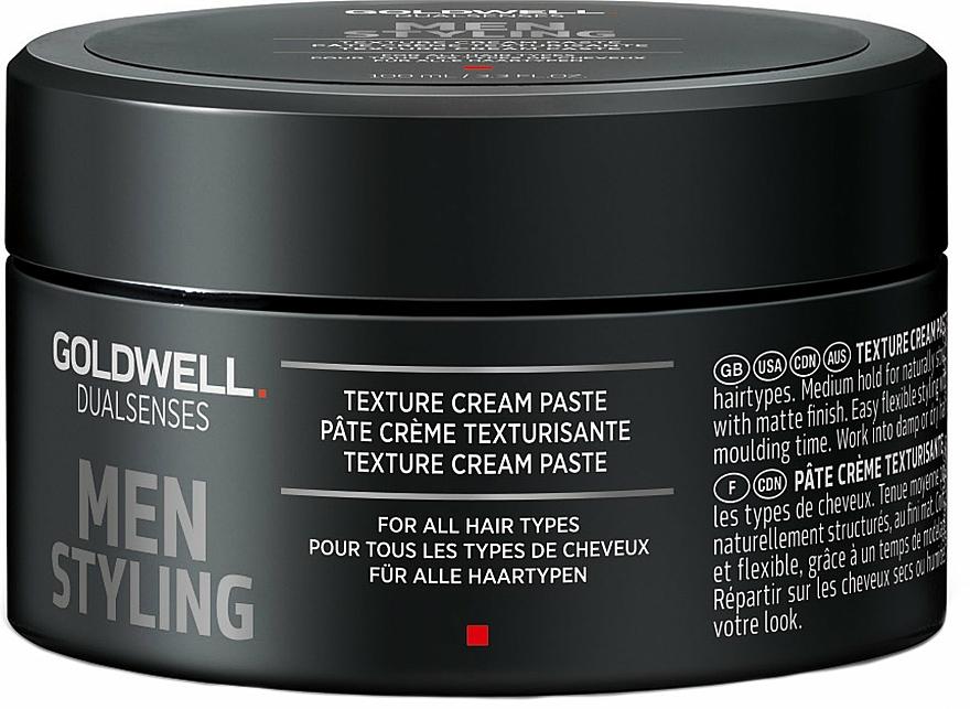 Modellierende Haarpaste für Männer - Goldwell Dualsenses For Men Texture Cream Paste — Bild N2