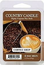 Düfte, Parfümerie und Kosmetik Tart-Duftwachs Coffee Shop - Country Candle Coffee Shop Wax Melts