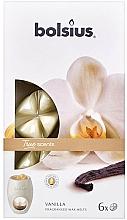 Düfte, Parfümerie und Kosmetik Duftwachs Vanille - Bolsius True Scents Vanilla
