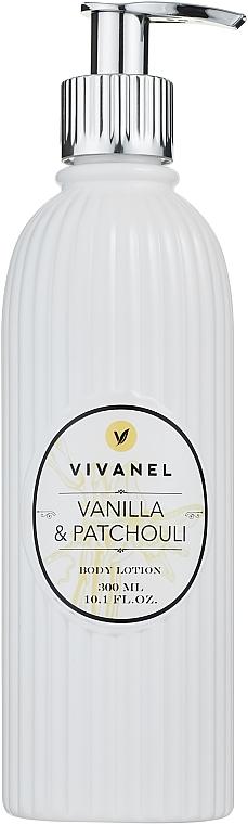 Vivian Gray Vivanel Vanilla & Patchouli - Schützende und feuchtigkeitsspendende Körperlotion