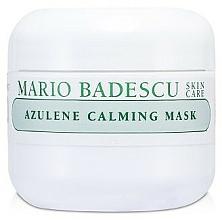 Düfte, Parfümerie und Kosmetik Beruhigende und feuchtigkeitsspendende Gesichtsmaske mit Azulen - Mario Badescu Azulene Calming Mask