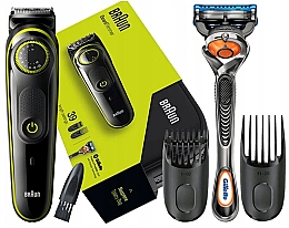 Düfte, Parfümerie und Kosmetik Bart- und Haarschneider - Braun BT 3941