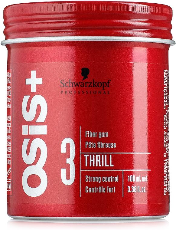 Styling Haarwachs starker Halt - Schwarzkopf Professional Osis+ Thrill Texture Fibre Gum