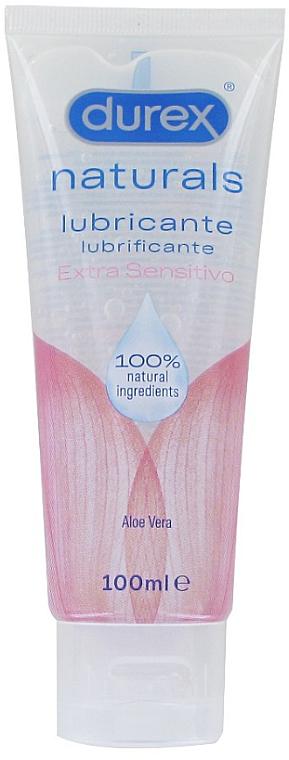 Gleitgel mit Aloe Vera für empfindliche Haut - Durex Naturals Extra Sensitive Gel — Bild N1