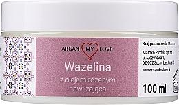 Düfte, Parfümerie und Kosmetik Vaseline für Gesicht und Körper mit Rosenöl - Argan My Love